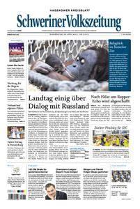 Schweriner Volkszeitung Hagenower Kreisblatt - 26. April 2018