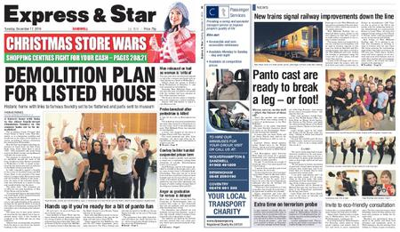 Express and Star Sandwell Edition – December 17, 2019