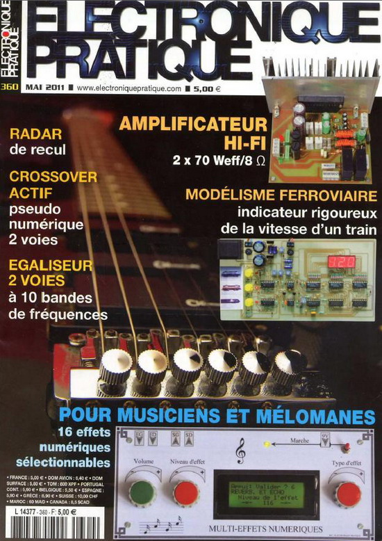 Electronique Pratique No.360 - Mai 2011