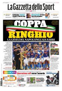 La Gazzetta dello Sport Roma – 18 giugno 2020
