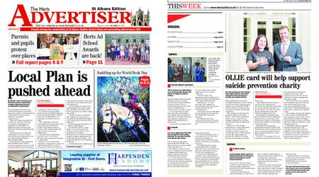 The Herts Advertiser – March 14, 2019