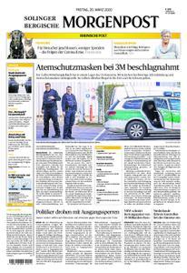 Solinger Morgenpost – 20. März 2020