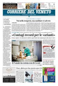 Corriere del Veneto Venezia e Mestre – 27 dicembre 2020