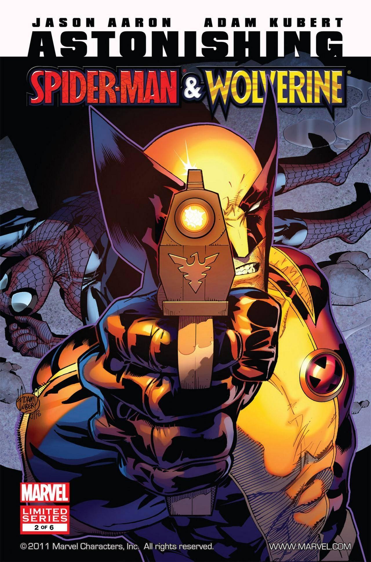 For PostalPops Astonishing Spider-Man  Wolverine 02 of 6 cbr