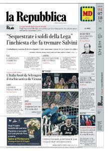 la Repubblica - 4 Luglio 2018