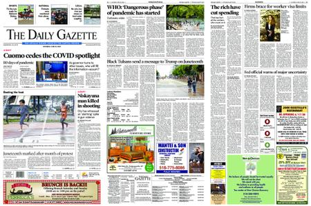 The Daily Gazette – June 20, 2020
