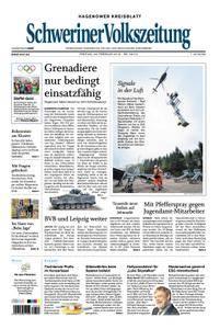 Schweriner Volkszeitung Hagenower Kreisblatt - 23. Februar 2018