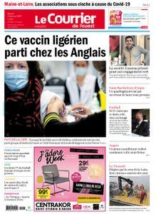 Le Courrier de l'Ouest Angers – 02 février 2021