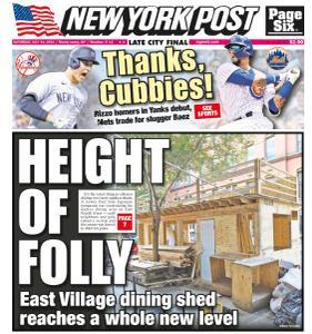 New York Post - July 31, 2021