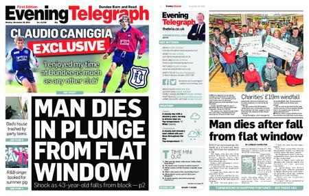 Evening Telegraph First Edition – November 26, 2018
