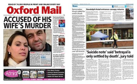 Oxford Mail – December 04, 2019