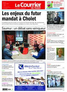 Le Courrier de l'Ouest Cholet – 23 juin 2020