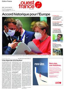 Ouest-France Édition France – 22 juillet 2020