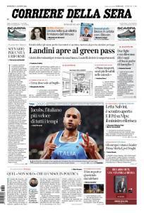 Corriere della Sera - 1 Agosto 2021