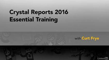 Crystal Reports 2016 Essential Training (2017)