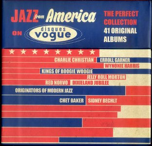 Various Artists - Jazz From America On Disques Vogue (2015) {20CD Sony Music Box Set}