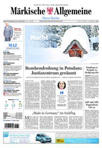 Märkische Allgemeine Dosse Kurier - 12. Januar 2019