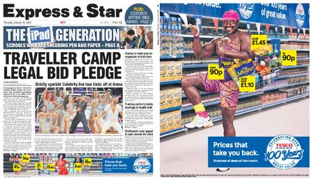 Express and Star City Edition – January 16, 2020