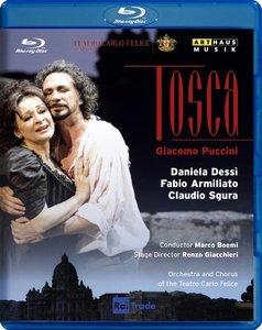 Marco Boemi, Orchestra of the Teatro Carlo Felice, Daniela Dessi, Fabio Armiliato - Puccini: Tosca (2012) [Blu-Ray]
