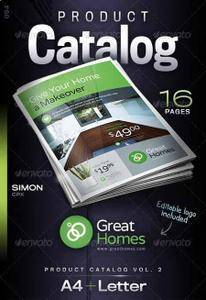 GraphicRiver - Product Catalog Vol. 2
