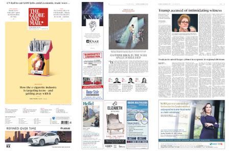 The Globe and Mail – November 16, 2019
