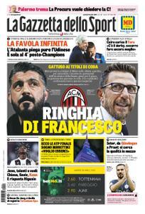 La Gazzetta dello Sport – 30 aprile 2019