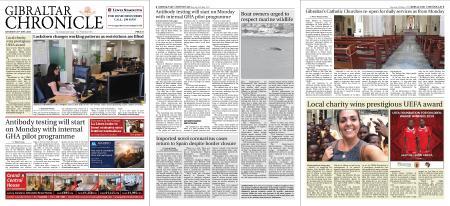 Gibraltar Chronicle – 30 May 2020