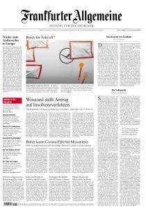 Frankfurter Allgemeine Zeitung - 26 Juni 2020