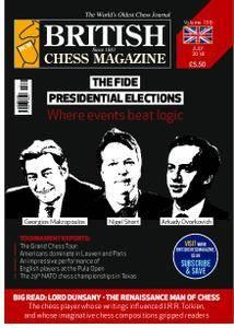 British Chess Magazine – July 2018