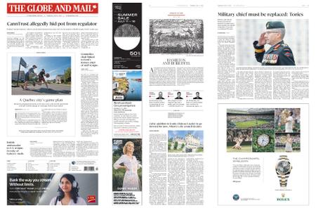 The Globe and Mail – July 11, 2019