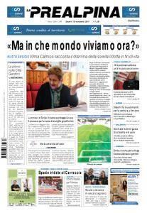 La Prealpina - 18 Novembre 2017