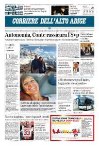 Corriere dell'Alto Adige – 30 agosto 2019
