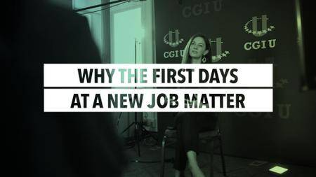 Why the First Days at a New Job Matter