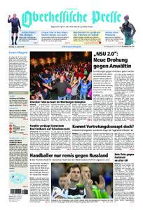 Oberhessische Presse Hinterland - 15. Januar 2019