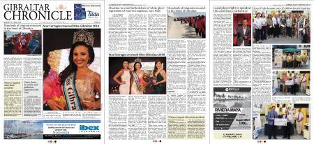 Gibraltar Chronicle – 18 June 2018