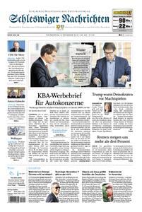Schleswiger Nachrichten - 08. November 2018