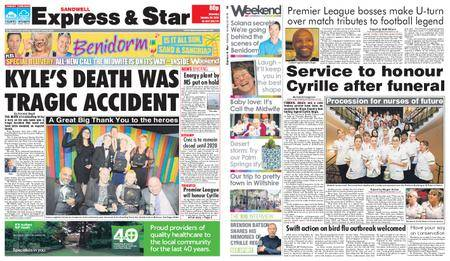 Express and Star Sandwell Edition – January 20, 2018