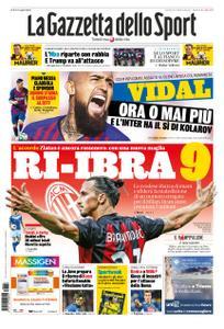 La Gazzetta dello Sport Roma – 28 agosto 2020
