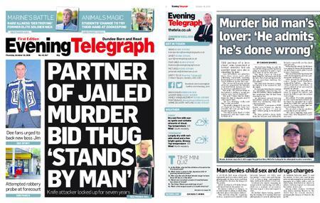 Evening Telegraph First Edition – October 18, 2018