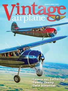 Vintage Airplane - March/April 2018