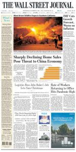 The Wall Street Journal - 13 October 2021