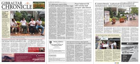 Gibraltar Chronicle – 22 August 2018