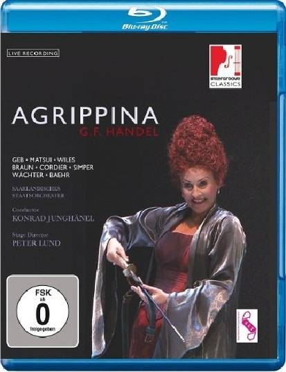 Konrad Junghanel, Saarbrucken State Theater Orchestra - Handel: Agrippina (2012) [Blu-Ray]
