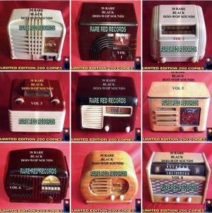 VA - Rare Black Doo-Wop Sounds Collection: Box Set 45CDs (2005)