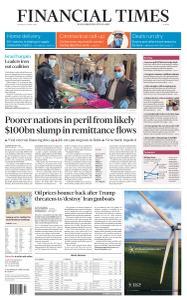 Financial Times Europe - April 23, 2020