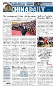 China Daily Hong Kong - September 3, 2019