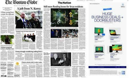 The Boston Globe – September 04, 2017