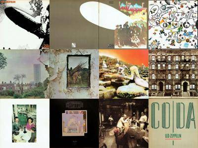 Led Zeppelin: Discography (1969 - 1982) [Vinyl Rip 16/44 & mp3-320]