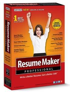 ResumeMaker Professional Deluxe 20.1.1.153