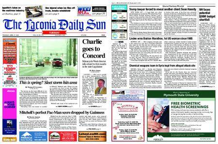 The Laconia Daily Sun – April 17, 2018